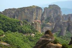 Monastério de Meteora Fotografia de Stock Royalty Free