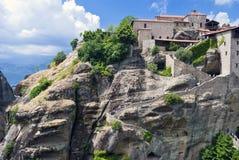 Monastério de Meteora, Grécia Imagem de Stock Royalty Free