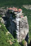 Monastério de Meteora, Greece Foto de Stock