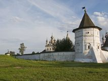 Monastério de Michael do Archangel na cidade de Yuryev-Polsky Foto de Stock Royalty Free