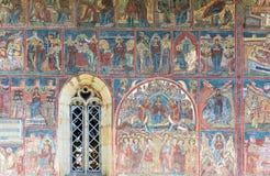 Monastério de Moldavita fotografia de stock