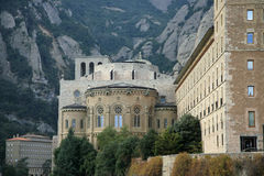 Monastério de Montserrat Foto de Stock