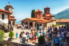 Monastério de Naum de Saint, Macedónia Fotos de Stock