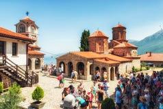 Monastério de Naum de Saint, Macedónia Fotografia de Stock Royalty Free