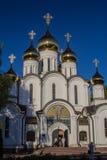 Monastério de Nicholas em Pereslavl-Zalesky fotos de stock royalty free