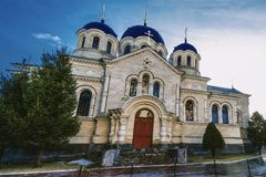 Monastério de Noul Neamt em Chitcani Transnistria Fotos de Stock Royalty Free