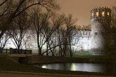 Monastério de Novodevichii Fotos de Stock