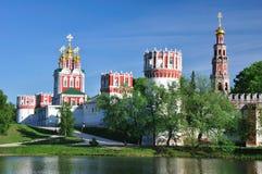 Monastério de Novodevichiy. Moscovo. Rússia. Fotografia de Stock Royalty Free
