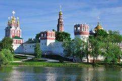 Monastério de Novodevichiy. Moscovo. Rússia. Foto de Stock Royalty Free