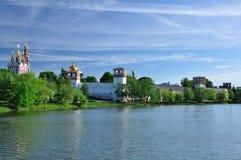 Monastério de Novodevichiy. Moscovo. Rússia. Fotos de Stock