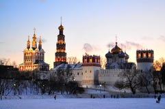 Monastério de Novodevichy Fotos de Stock