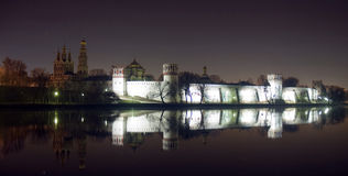 Monastério de Novodevichy. Rússia Fotografia de Stock Royalty Free