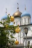 Monastério de Novospassky (Moscovo) Foto de Stock Royalty Free
