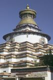 Monastério de Palkhor em Tibet Fotos de Stock