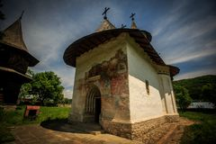 Monastério de Patrauti Foto de Stock Royalty Free