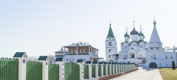 Monastério de Pecherskiy de Rússia Fotos de Stock Royalty Free