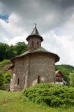 Monastério de pedra velho em Romania rural Foto de Stock Royalty Free