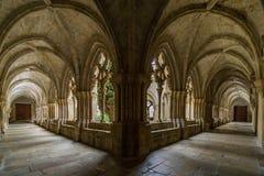 Monastério de Poblet, Tarragona, Espanha Imagem de Stock