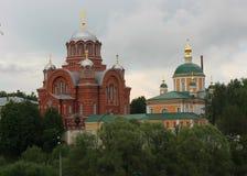 Monastério de Pokrovsky Khotkovo fotos de stock royalty free