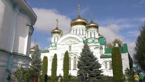 Monastério de Raifa Bogoroditsky da catedral da trindade santamente, Kasan, Tartaristão, Rússia filme