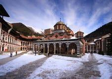 Monastério de Rila foto de stock royalty free