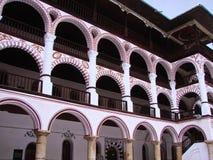 Monastério de Rila bulgária fotos de stock royalty free