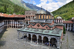 Monastério de Rila em Bulgária Fotos de Stock