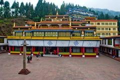 Monastério de Rumtek fotografia de stock royalty free