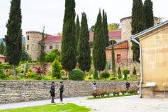Monastério de Samtavro em Mtskheta, Geórgia Fotografia de Stock Royalty Free