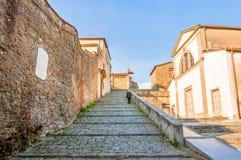 Monastério de San Francesco na crista do monte de Fiesole em Firenze, Itália Fotografia de Stock