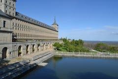 Monastério de San Lorenzo del Escorial, Madri, Espanha fotografia de stock royalty free