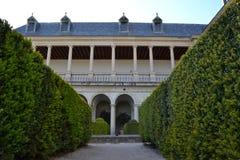 Monastério de San Lorenzo del Escorial, Madri, Espanha foto de stock royalty free