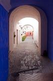 Monastério de Santa Catalina, Arequipa, Peru Imagem de Stock Royalty Free