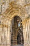 Monastério de Santa Clara-um-Velha, Coimbra Portugal fotografia de stock