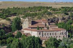 Monastério de Santa MarÃa del Parral em Segovia Fotos de Stock