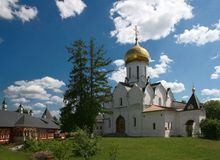 Monastério de Savvino-Storozhevsky Imagem de Stock
