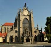 Monastério de SEDLECKÝ com a catedral da suposição em Kutna Hora, República Checa Foto de Stock Royalty Free