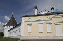 Monastério de Serpukhov Vysotsky fotos de stock