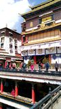 Monastério de Shigatse fotos de stock royalty free