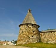 Monastério de Solovetskiy Imagens de Stock Royalty Free