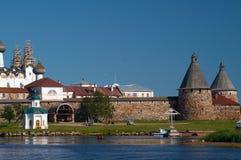 Monastério de Solovetsky Fotos de Stock Royalty Free