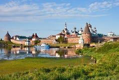 Monastério de Solovetsky Foto de Stock Royalty Free