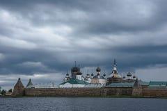 Monastério de Solovetsky Fotografia de Stock