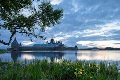 Monastério de Solovetsky Imagens de Stock