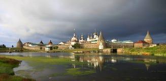 Monastério de Solovetsky Foto de Stock