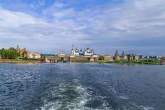 Monastério de Solovetsky, Rússia imagens de stock