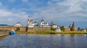 Monastério de Solovetsky, Rússia imagem de stock