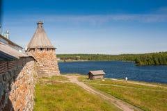Monastério de Solovetsky, Solovki Imagens de Stock