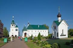 Monastério de Spaso-Preobrazhensky em Murom, região de Vladimir, Rússia fotografia de stock royalty free