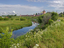 Monastério de Spaso-Yevfimiyev Imagem de Stock Royalty Free